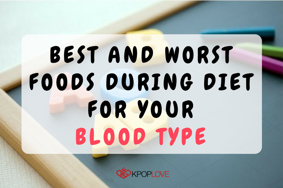 Best and Worst Foods During Diet For Your Blood Type