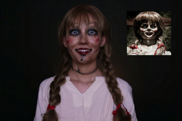 [Video] Korean Beauty YouTuber Risabae Transforms Into 'Annabelle'