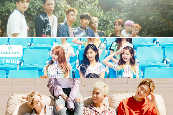 EXO, TWICE, WINNER and Wanna One to Participate in ISAC