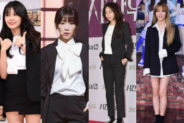 [VOTE!] Which K-Pop Female Celebrity Suit Look Do You Prefer?
