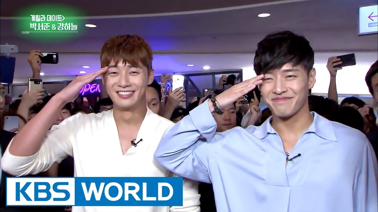 [Video] Park Seo-jun and Kang Ha-neul Suprise Fans While on Guerrilla Date