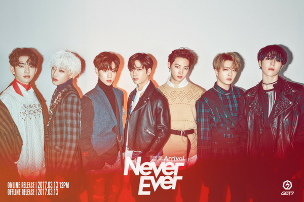 GOT7 Never Ever Group photo