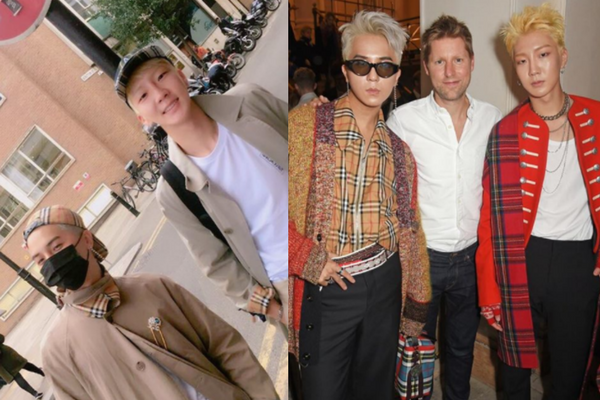 WINNER Hoony & Mino Steal the Show at Burberry Fashion Show