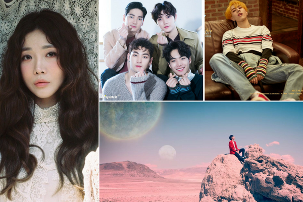 [Teaser] October Comeback Update: Davichi, GOT7, NU'EST, SF9