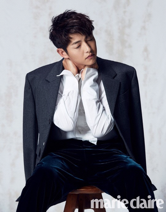 Song Joong-ki Marie Claire