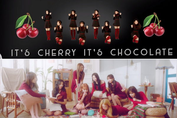 """[M/V] Lovelyz and Gugudan are Back with """"Twinkle"""" and """"Chococo"""""""