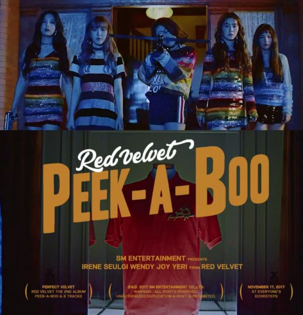 peek a boo red velvet is returning this month with full album. Black Bedroom Furniture Sets. Home Design Ideas