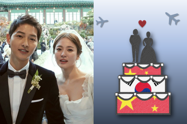 [Opinion] The Hallyu Ban in China is Dead. The Drones at the Song-Song Wedding Prove It