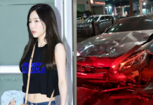 taeyeon car accident