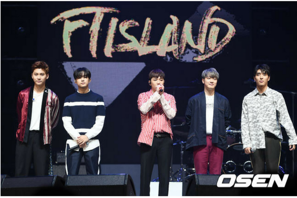 F.T. Island Planning to Serve Their Military Conscription Together
