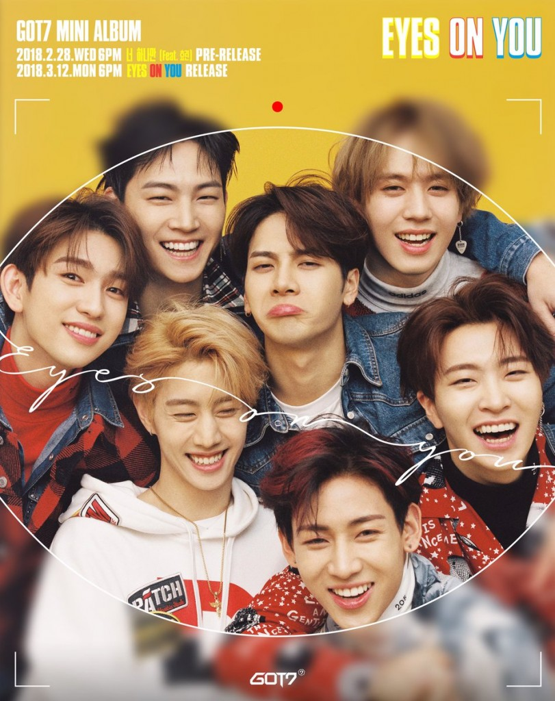 GOT7 Look Eyes On You
