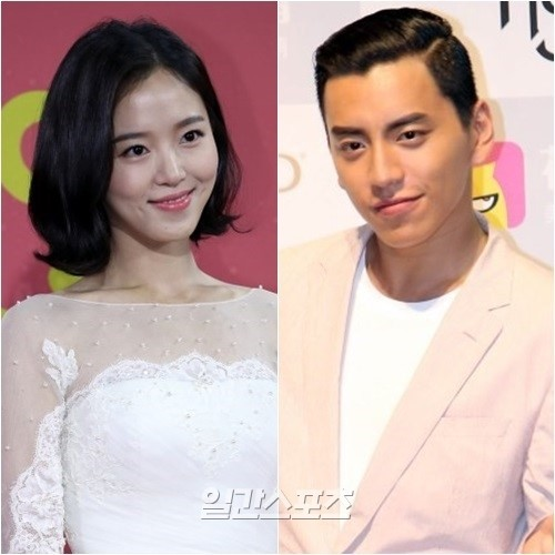 Korean Actress Kang Han-Na and Taiwanese Actor Darren Wang ...