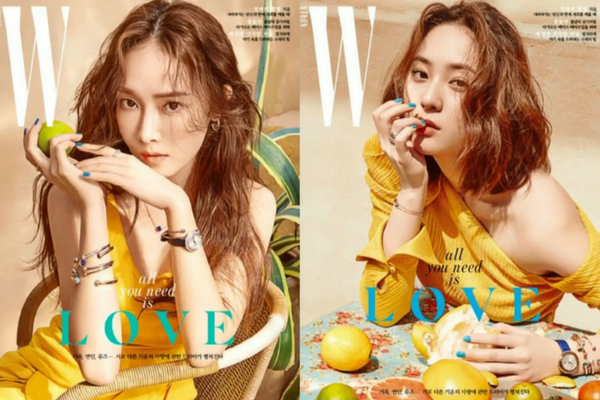 Jessica and Krystal Jung Sisters on Cover of W Magazine