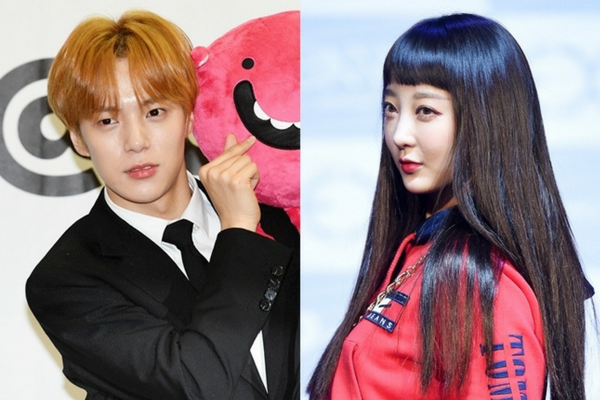 EXID Hyelin Denies Dating Rumor with Monsta X Minhyuk