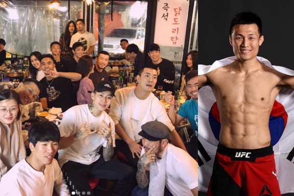 aomg announces ufc fighter korean zombie jung chan sung as newest