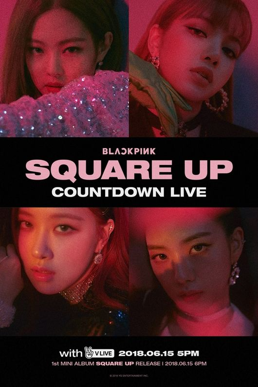 """BLACKPINK to Greet Fans in """"Countdown V Live"""" Before Album"""