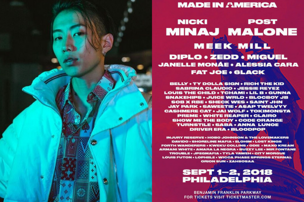 Jay Park Joins Line-Up for Jay-Z's Made in America Music Festival