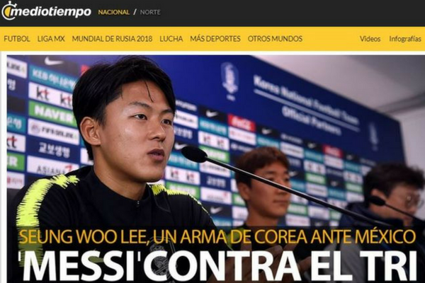 "Mexico Media Is Keeping an Eye on the ""Korean Messi"" for Next Match"