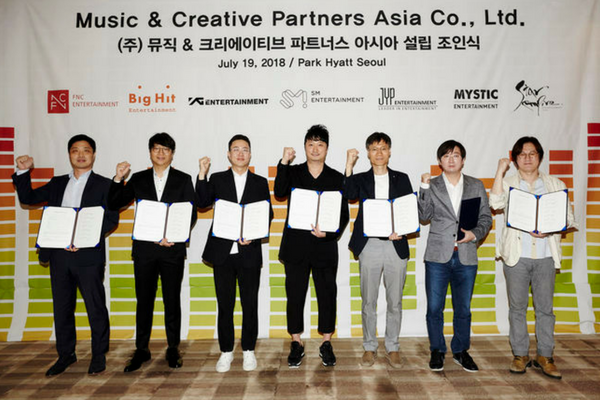 SM, JYP, YG, and 4 Other Major Agencies Join Forces to Establish