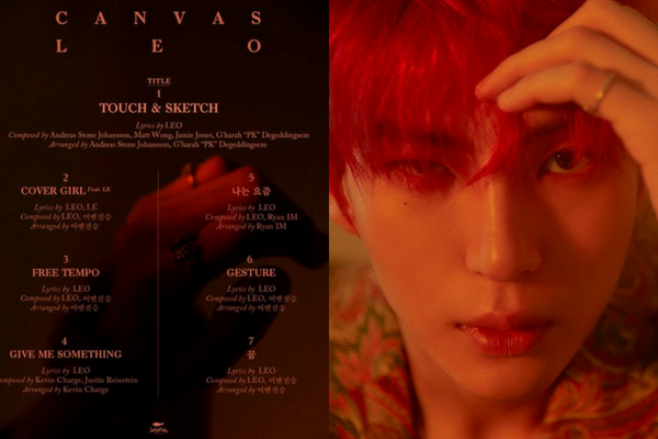 VIXX Leo Reveals Track List and Title Song for Solo Album