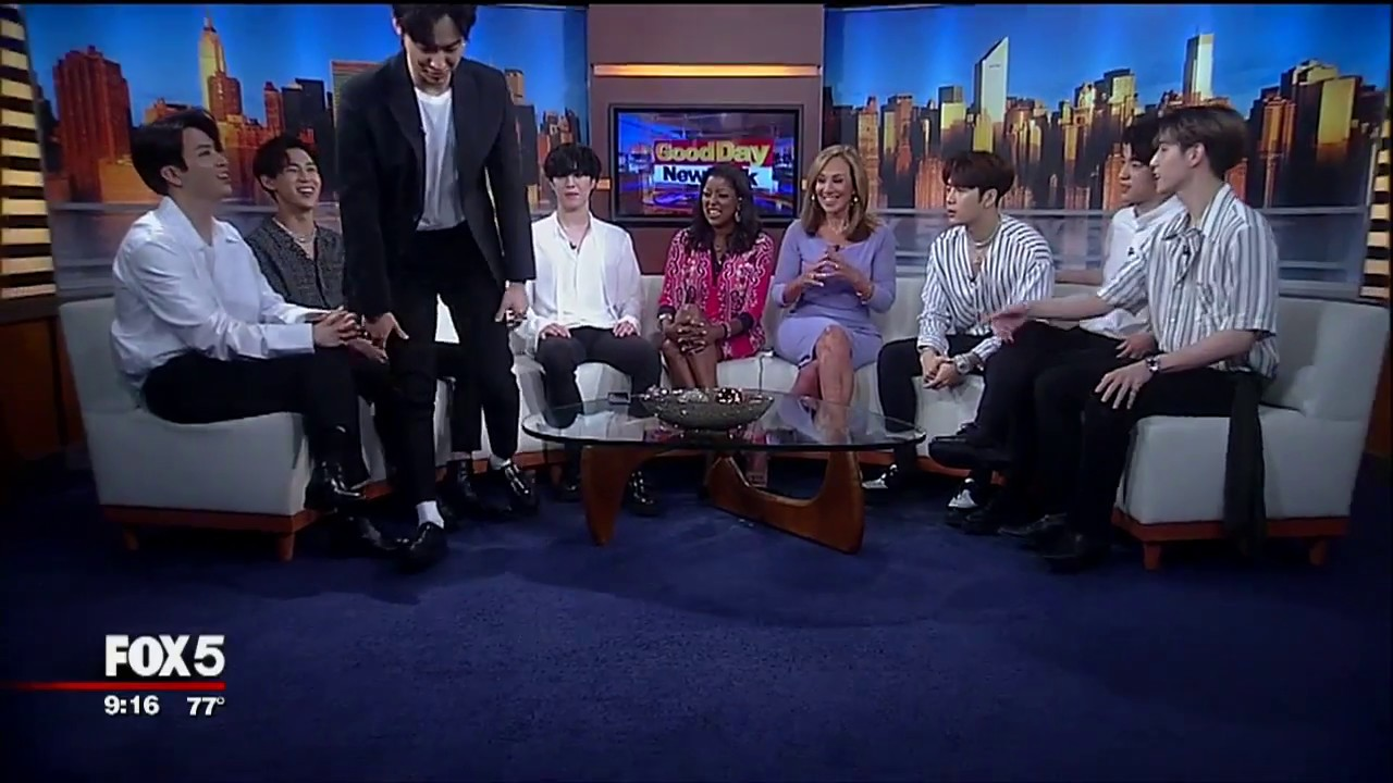[Hot Clip] Check Out GOT7 Reveal a Few Secrets on 'Good Day New York'