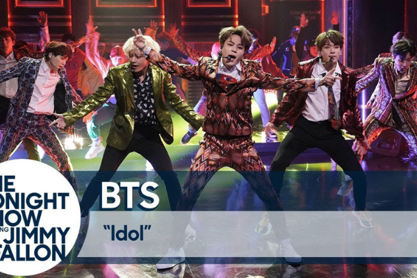 "[HOT CLIP] BTS Performs ""IDOL"" on ""The Tonight Show Starring Jimmy Fallon"""