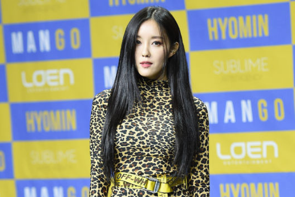"Hyomin Talks About the Label ""T-ara"" During Solo Showcase"