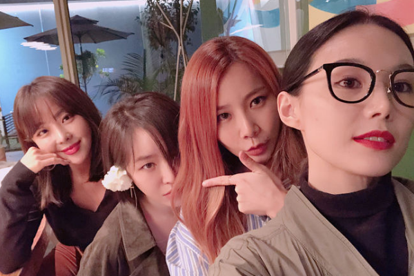 Brown Eyed Girls Reunite to Celebrate Birthdays of Gain and JeA