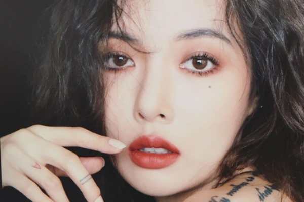 Hyuna Posts for the First Time Since the Cube Entertainment Controversy