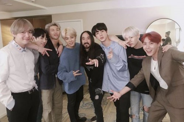 """BTS and Steve Aoki Drop New Collaboration """"Waste it on Me"""""""