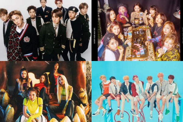 2018 Korea Popular Music Awards Announces List of Nominees