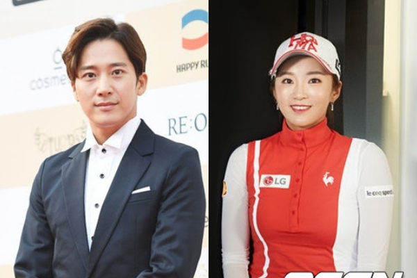 Actor Lee Wan and Professional Golfer Lee Bo-Mi Are Dating