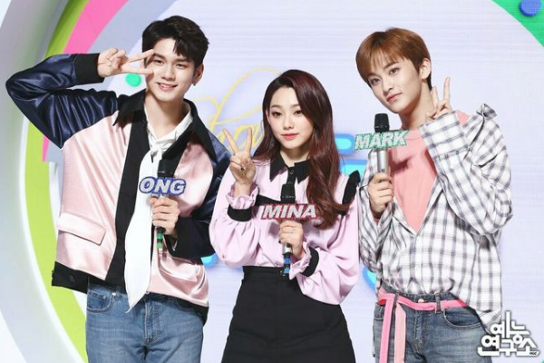 "Producer of ""Show! Music Core"" Compliment Ong Sung-Woo, Mina, and Mark"
