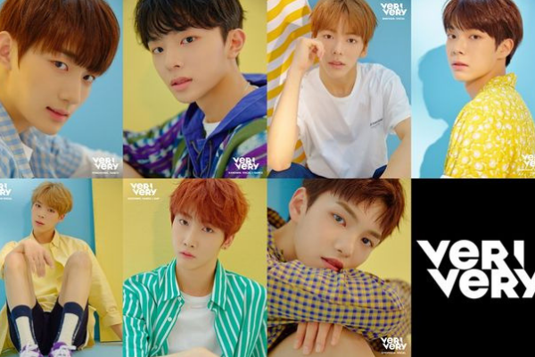 Jellyfish Entertainment's New Boy Group VERIVERY Announces Official Debut