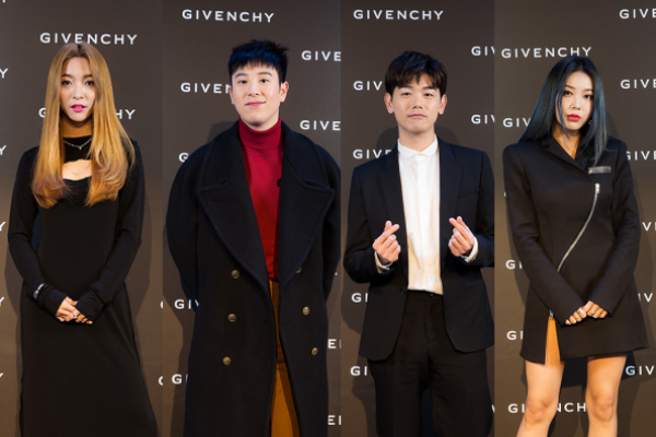 K-Pop Stars Have a Holiday Party With Givenchy