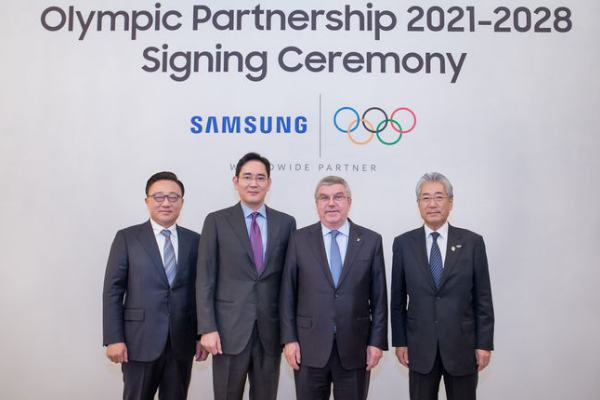 Samsung Electronics Extends Its Official Olympic Sponsorship to 2028