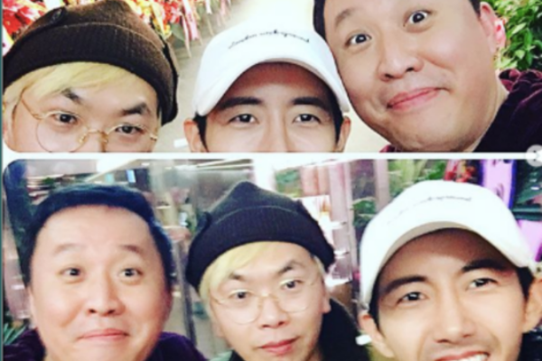 Kwanghee Updates Fans With Infinity Challenge Members