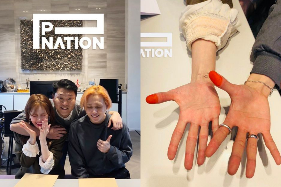 HyunA and E'Dawn Signed to Psy's New Label P Nation