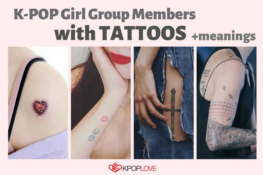 K-pop Girl Group Members with Tattoos