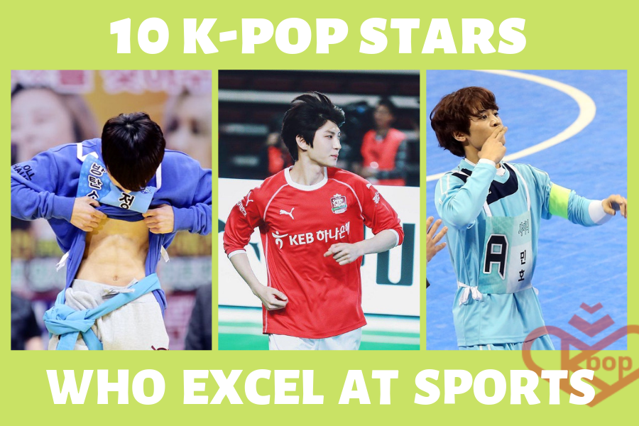 10 K-pop Idols Who Excel at Sports