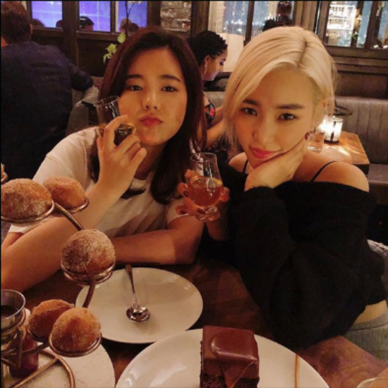 Girl's Generation Members Reunite Abroad in Los Angeles