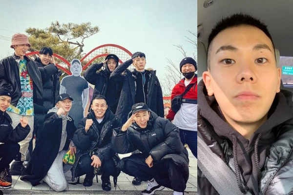 AOMG Music Family Gathers to Send Loco Off to the Military