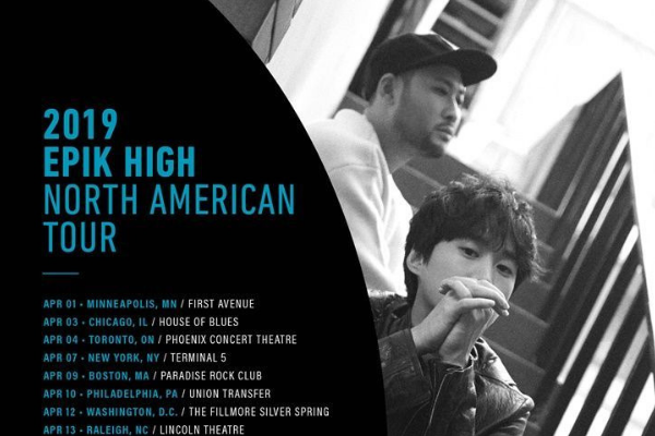 Epik High to Have North American Tour in April