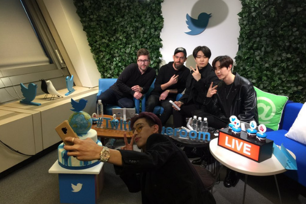 GOT7 Members Chat with Twitter's Creator and CEO Jack Dorsey.