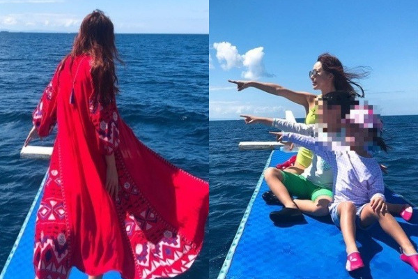 S.E.S Shoo Gets Backlash While On Vacation